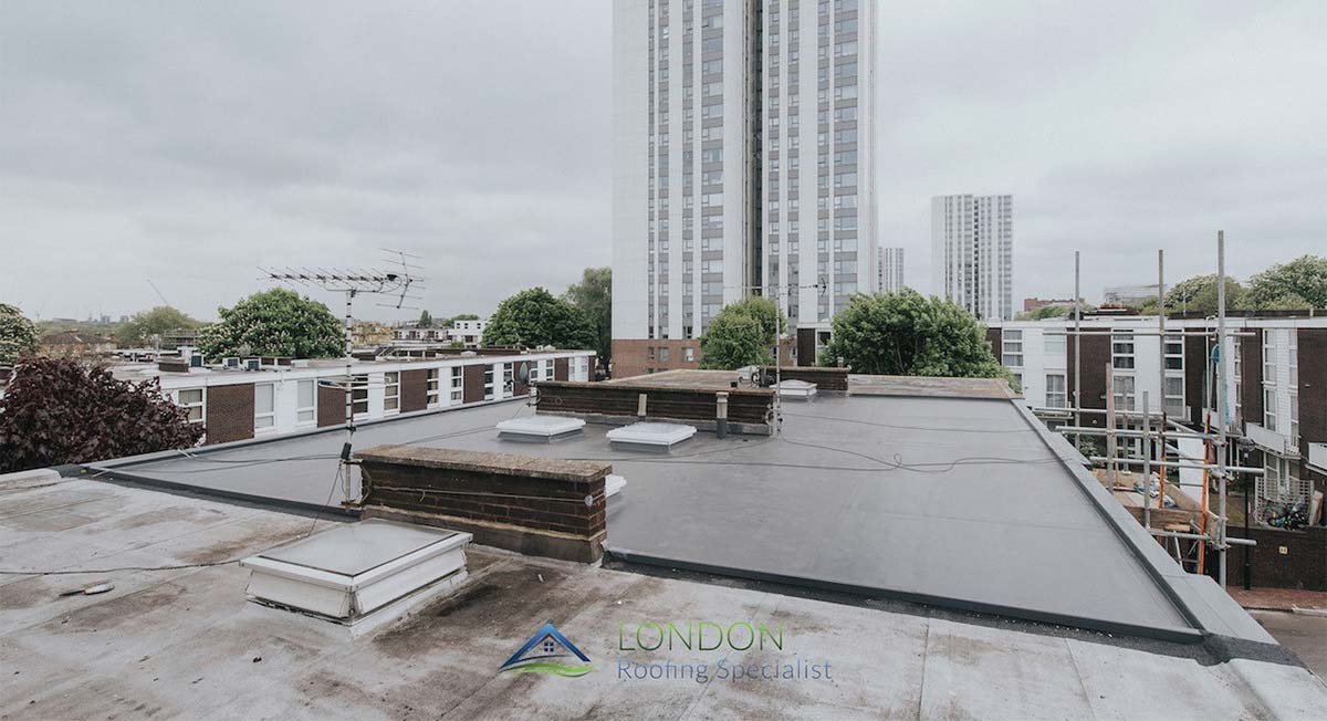 flat roofing London
